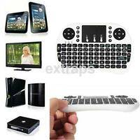 Handheld 2.4G Mini Wireless Keyboard with Mouse Touchpad For PC TVWhite UK