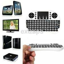 Handheld 2.4G Mini Wireless Keyboard with Mouse Touchpad For PC TV	White UK