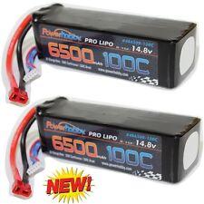 Powerhobby 4s 6500mah 100c Lipo Battery (2) : Arrma Typhon