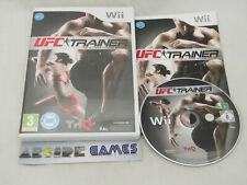 UFC TRAINER Wii COMPLET (vendeur pro)