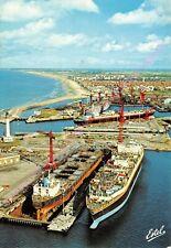 CPM 59140 DUNKERQUE Vue aérienne des chantiers navals Edt ESTEL