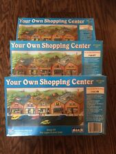 3 IHC Your Own Shopping Center HO Scale 1:87 NIB Pizza Health Gifts