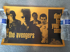 THE AVENGERS-LOOKOUT RECORDS- Promo Poster-Promotional