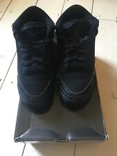 Air Jordan 3 Retro Black Cat GS 5y UK 4.5 EU 37.5
