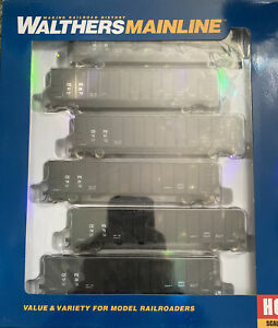 Ho Scale Walthers 50' Coal Gondola 6 Pack Trinity Industries Leasing CEPX 56007