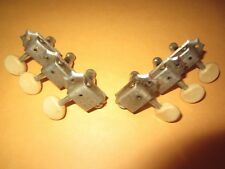 Vintage 1960's Gibson Kluson Deluxe Guitar Tuners 3-on-side Large Capstans Only