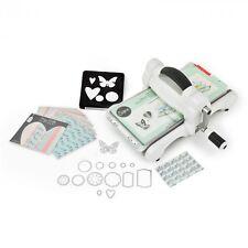 New! Sizzix Big Shot  White  Classic Die Cutting Machine Starter Kit : 661545
