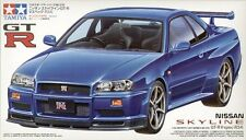 Tamiya 1/24 Nissan Skyline GT-R V-spec R34  # 24210