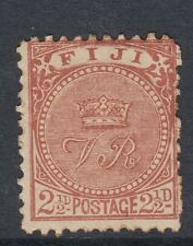 Fiji 1895 QV 2½d brown - Sg90 - lightly mounted mint