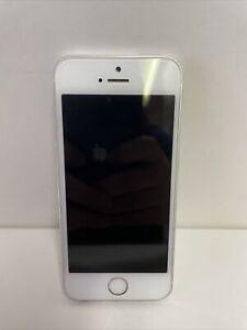 Apple iPhone 5s Silver 16GB Verizon - CLEAN ESN - 100% Functional - Fast Ship