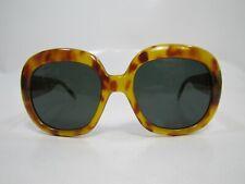 VINTAGE 70s ITALY BRADO OVERSIZED TORTOISE LADIES OVAL GLASSES SUNGLASSES