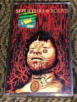 Sepultura – Roots. Cassette Tape *Plays Well* Black/Thrash... Metal Mind