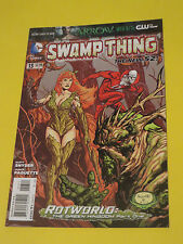 2012 Swamp Thing #13 Paquette New 52 Dc Comics 9.2Nm Rot World