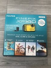 BRAND NEW Fujifilm FinePix XP140 Digital Camera Sky Blue 1401400 64GB
