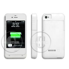 PORTABLE POWER BANK RAPID BACKUP RECHARGEABLE BATTERY CASE for iPHONE 4S 4 WHITE