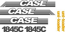 Case 1845C replacement decals sticker / Decal kit NS