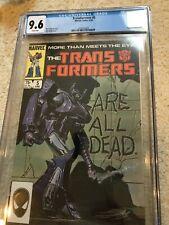 Transformers #5 CGC 9.6 NM+