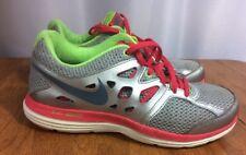 Nike Dual Fusion Lite Running Shoes 599560-001 Neon Women's US 7