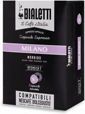Bialetti Milano Dolce Gusto kompatible Kaffeekapseln 144 Stück MHD 20/11/2020