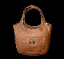 Coach Ergo Natural Vintage Vachetta WHISKEY Leather Legacy XL Tote Bag Purse WOW