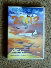 FARNBOROUGH INT AIRSHOW 2002  -  AIRSHOW AVIATION - ( 1 DVD  -2002) FREE P&P