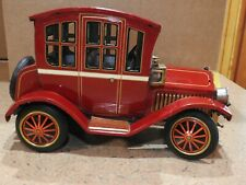 Antique Grandpa Model T Car, Tin Toy, Battery Operated Rosko, not running