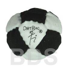 Dirt Bag SandMaster DirtBag 14 Panel Hacky Sack Footbag Black White New DB44