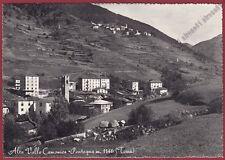 BRESCIA TEMÙ 03 TEMU' Fraz. PONTAGNA - VALLE CAMONICA Cartolina FOT. viagg. 1962