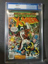 X-Men 109 (2/78) Key! First Weapon Alpha, James Hudson. CGC 9.0 Old Label
