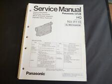 Original Service Manual Panasonic  NV- R11E