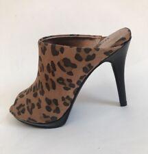 NEW SECRET CELEBRITY Women's High Heel Shoes Animal Print sz 7