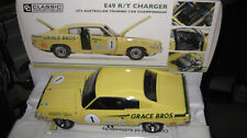CLASSIC 1/18 CHRYSLER E49 R/T CHARGER 1973 ATCC IAN GEOGHEGAN ONLY 500 18614