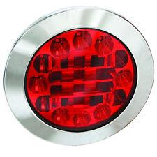 MONARK LED 12 V & 24 V Schluß - Brems Leuchte CHROM LKW TRUCK TRAILER ANHÄNGER