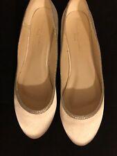 Bridal Wedding Shoes Ivory Satin