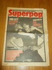 SUPERPOP #41 NOVEMBER 3RD 1979 THIN LIZZY STRANGLERS DAMNED B.A. ROBERTSON