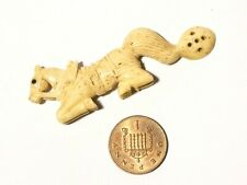 More details for c1800 french napoleonic pow miniature carved horse shaped spoon the best !