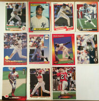 DEION SANDERS LOT of 24 NM+ cards RC Rookie 1990-1996 Yankees Falcons Prime time