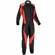 OMP TECNICA EVO RACE SUIT BLACK/RED Size 60