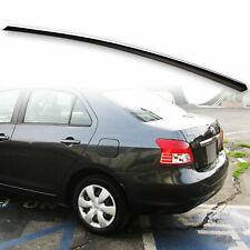 Fyralip Trunk Lip Spoiler For Toyota Yaris Sedan 07-12 Belta Painted Black 202