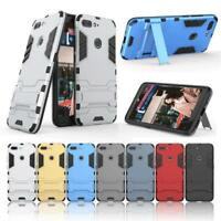 Luxury Slim 2 in 1 PC + TPU Hybrid Armor Back Case Stand Cover For ZTE Blade V18