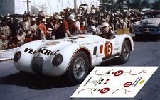 Calcas Jaguar C Type Carrera Panamericana 1954 13 1:32 1:43 1:24 1:18 decals