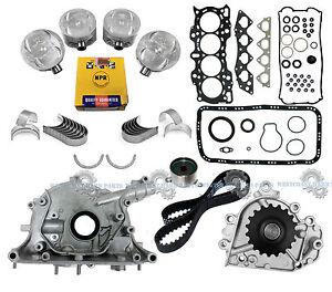 97-98 HONDA CR-V 2.0L DOHC 16V B20B4 MASTER ENGINE REBUILD KIT *GRAPHITE GASKET*
