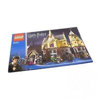 1x Lego Bauanleitung A4 Harry Potter Azkaban Hogwarts Schloß 4757
