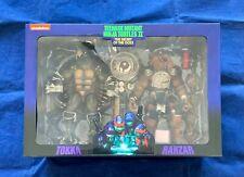 New ListingNeca Teenage Mutant Ninja Turtles Ii Tokka & Rahzar 2 Pack Figures