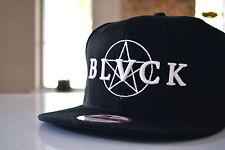 New Era Custom RARE BLVCK BLACK Scale SCVLE Pentagram Hat Cap Snapback New