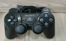 CONTROLLER PAD SONY PLAYSTATION 2 ORIGINALE PS2 COLORE NERO