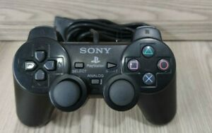 CONTROLLER PAD SONY PLAYSTATION 2 ORIGINALE PS2 COLORE NERO-