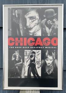 CHICAGO BROADWAY MUSICAL REVIVAL W/SANDY DUNCAN & OTHERS SIGNED & FRAMED POSTER