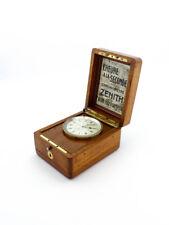 """Zenith Chronometre """"L´heure a la SECONDE"""" chronometer 1900's"""