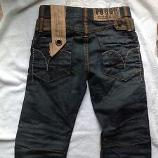 ORIGINAL TOUGH JEANSMITH MENS DISTRESSED JEANS SZ 28 DESIGNER